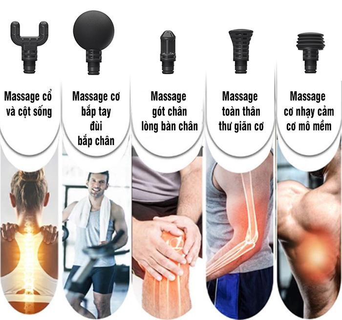 Súng massage giải cơ Ai Booster Lightsaber