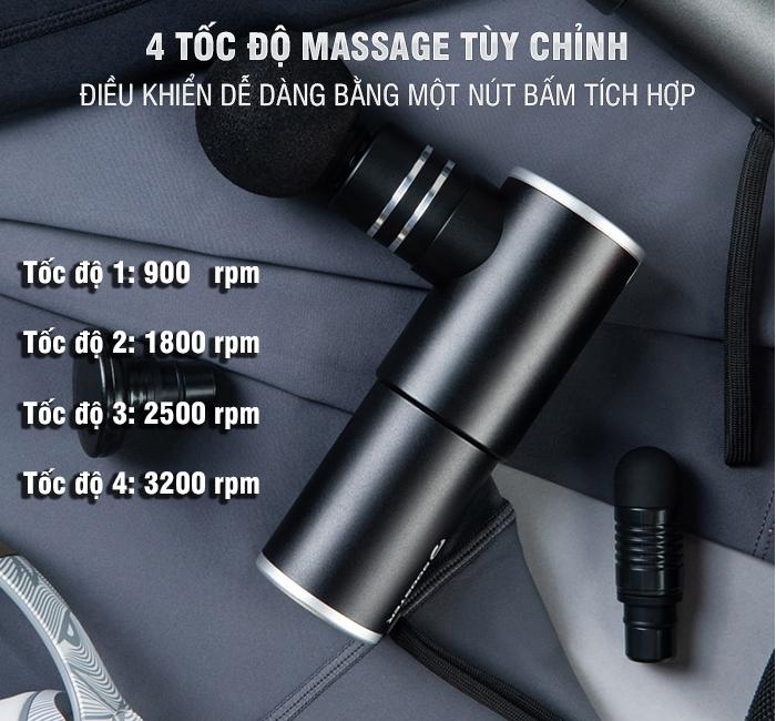 Súng massage cầm tay Booster MINI 2