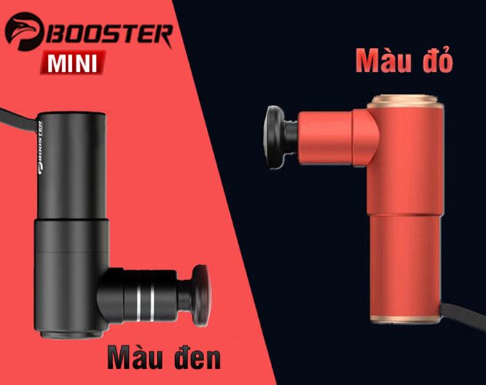 Súng massage gun cầm tay điều trị căng cơ bắp Booster MINI