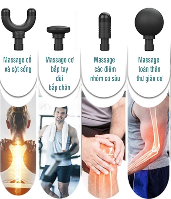 Súng massage cầm tay Booster Pocket MINI - Xám xanh