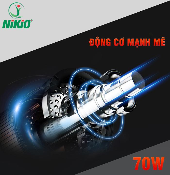 Súng massage gun điều trị đau nhức cơ bắp Nikio NK-170A