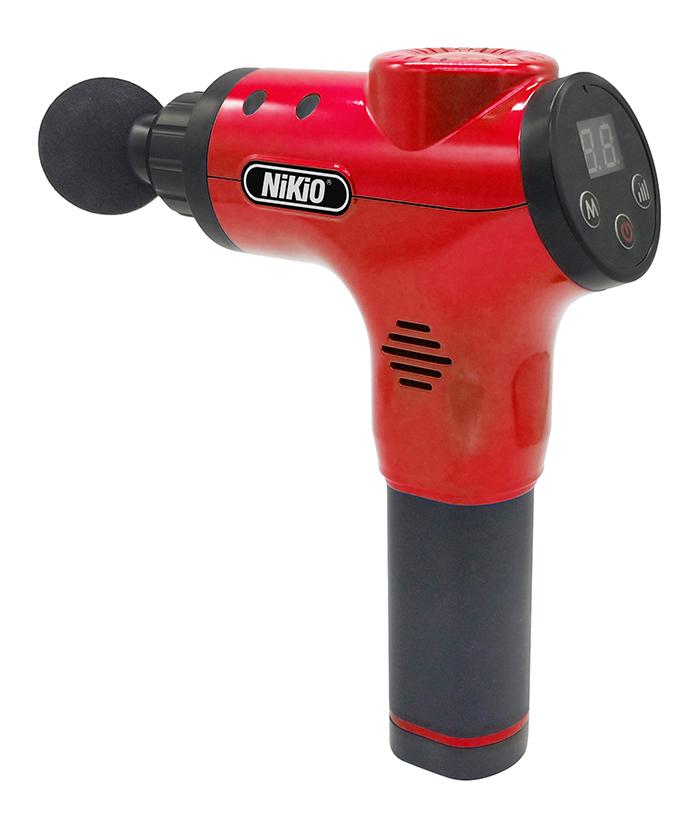 Súng massage cầm tay Nikio NK-170B - Đỏ chất liệu tốt