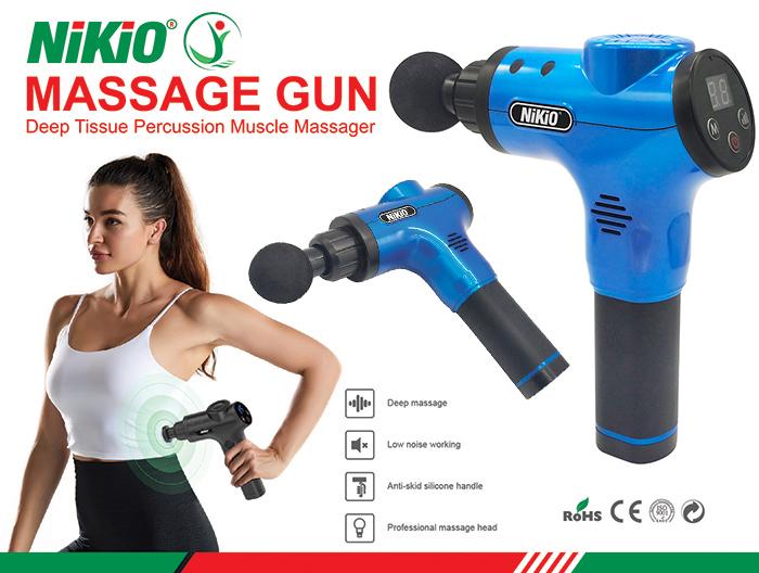 Súng massage cầm tay Nikio NK -170B