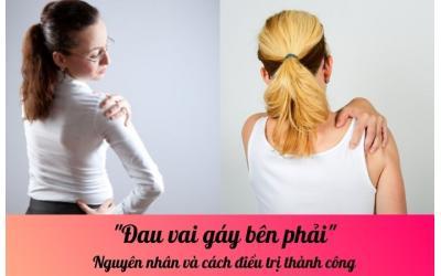 Đau vai gáy bên phải: Nguyên nhân và cách điều trị thành công