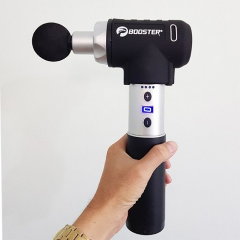 Súng massage gun điều trị căng cơ Booster PRO 2 - 135W 9 tốc độ - Chính hãng