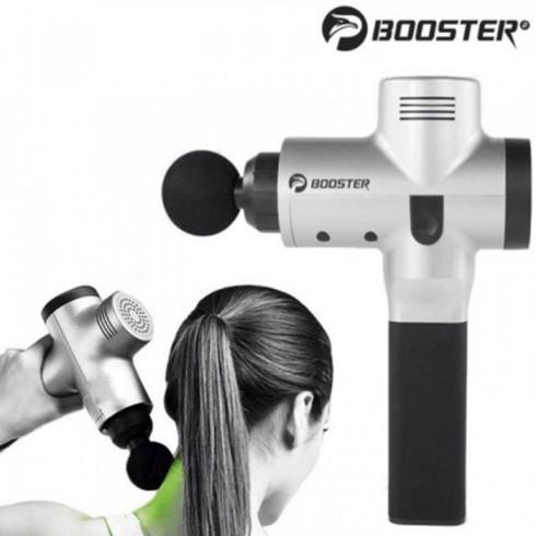 Súng massage gun điều trị căng cơ bắp Mỹ Booster PRO X - 90W