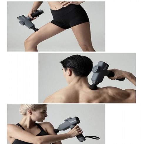 Súng massage gun điều trị đau mỏi cơ Korea ActiveGun 126W - 6 đầu