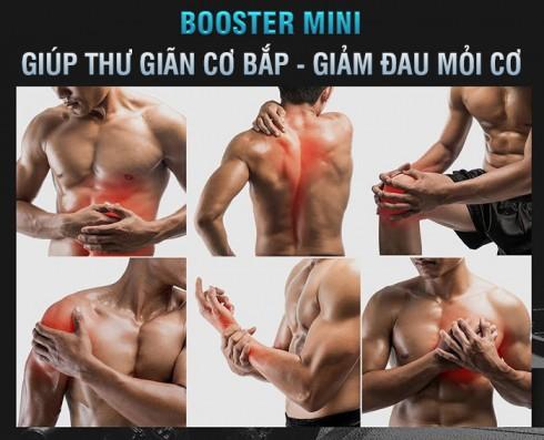 Súng mát xa mini Booster Pocket MINI - Xanh