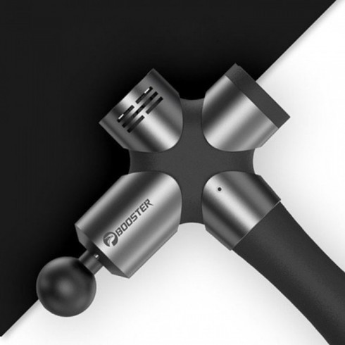 Súng massage gun dòng cao cấp Mỹ Booster PRO 3 - 126W 6 đầu