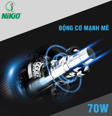 Súng massage cơ bắp Nhật Bản Nikio NK-170A - màu xanh