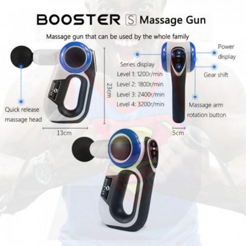 Máy massage gun trị đau cơ cho dân thể hình Mỹ Booster S - 120W