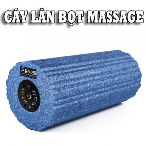 Trải nghiệm cùng con lăn điện massage rung điều trị đau nhức căng cơ Booster Pi Roller Pro